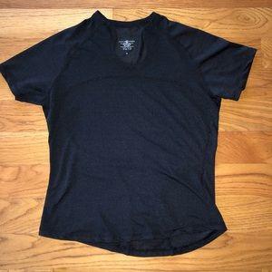 Lululemon black t shirt size 10